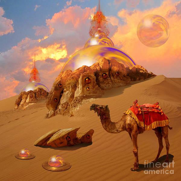 Digital Art - Mystic Desert by Alexa Szlavics