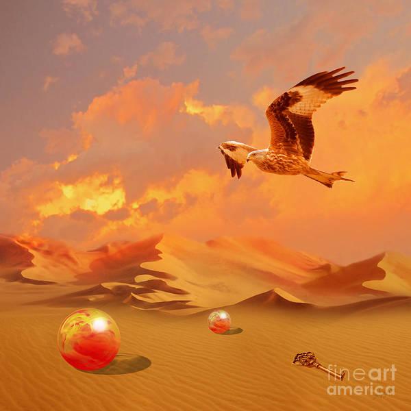 Digital Art - Mystic Desert Another Planet by Alexa Szlavics
