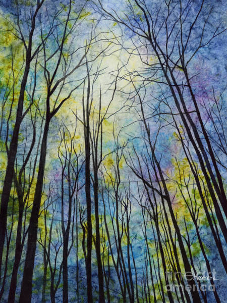 Wall Art - Painting - Mystic Forest by Hailey E Herrera