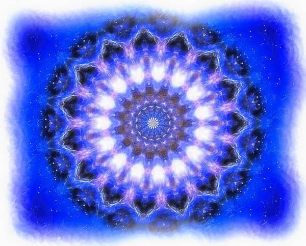 Mystic Mandala Art Print