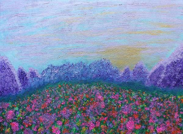 Painting - Mystic Meadow by Rachel Hannah