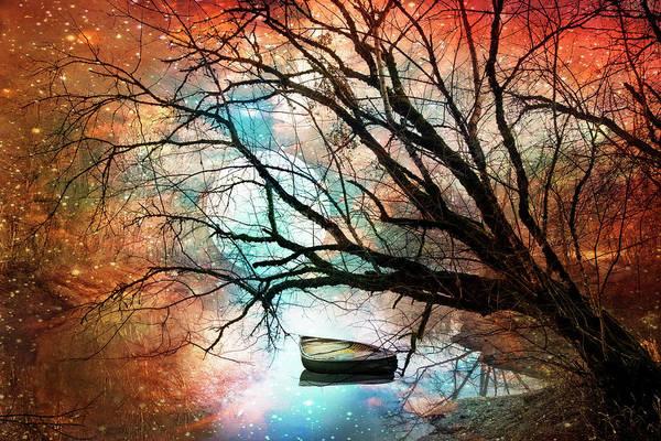 Digital Art - Mystic Moon by Debra and Dave Vanderlaan