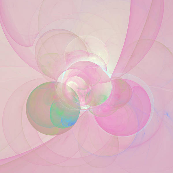 Digital Art - Mystic Muse Abstract by Isabella Howard