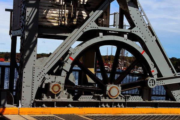 Photograph - Mystic Seaport Draw Bridge by Susan Vineyard