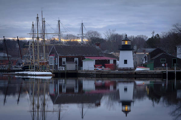 Photograph - Mystic Seaport by Kirkodd Photography Of New England