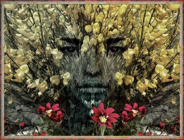 Ra Digital Art - Mystic Seasons - The Muse Of Mora by Daniel Arrhakis