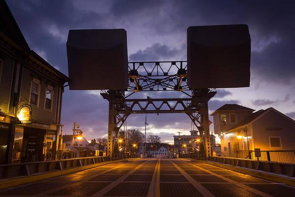 Photograph - Mystic Sky Bridge by Kirkodd Photography Of New England