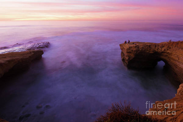 Photograph - Mystic Sunset At Sunset Cliff by David Levin