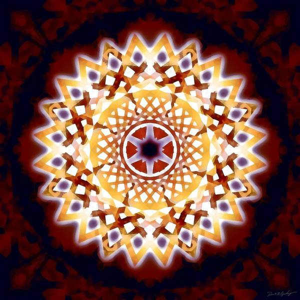 Digital Art - Mystic Universe 7 Zodiac Lattice by Derek Gedney