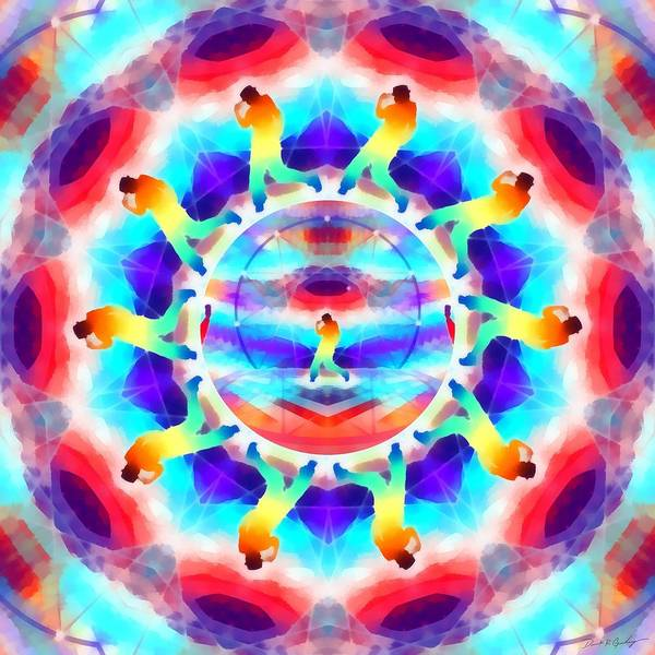 Digital Art - Mystic Universe Kk 6 by Derek Gedney