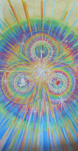 Wall Art - Painting - Mystica by Sue Beck-Ryan