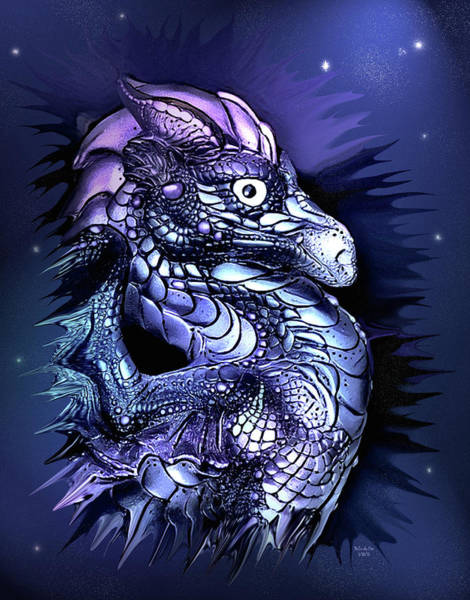 Digital Art - Mystical Dragon  by Artful Oasis