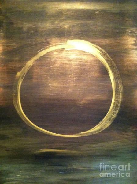 Wall Art - Painting - Mystical Enso by Uldra Patty Johnson