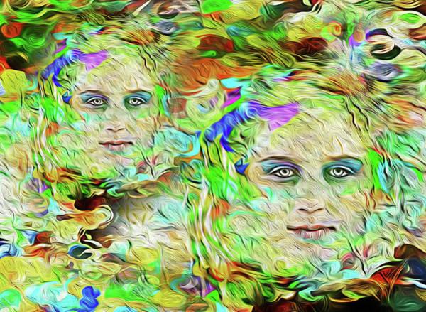 Mystical Eyes Art Print
