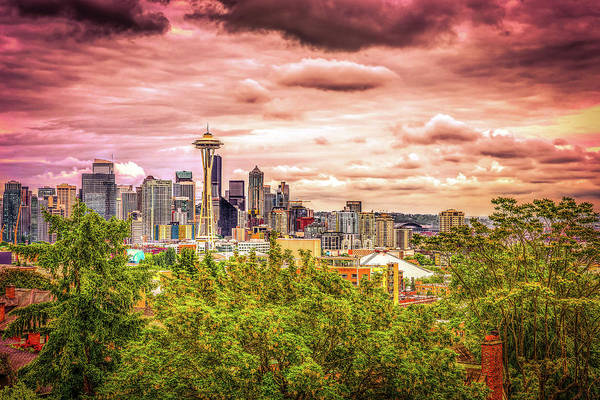 Wall Art - Photograph - Mystical Kerry Park by Spencer McDonald
