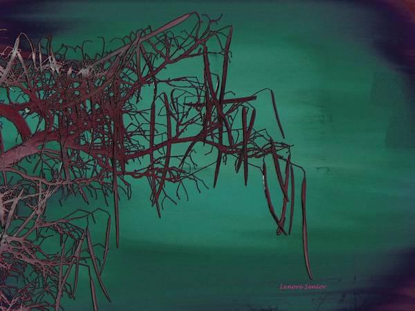 Pod Mixed Media - Mystical Landscape by Lenore Senior