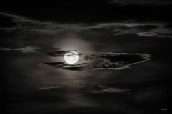 Photograph - Mystical Moon by Leland D Howard