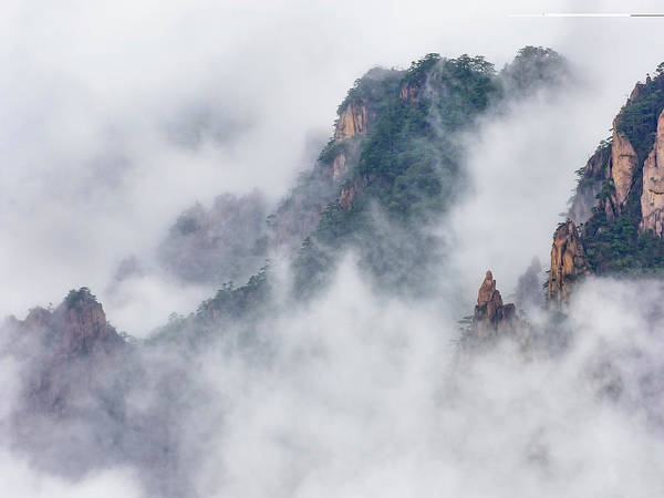 Photograph - Mystical Mountains by Usha Peddamatham