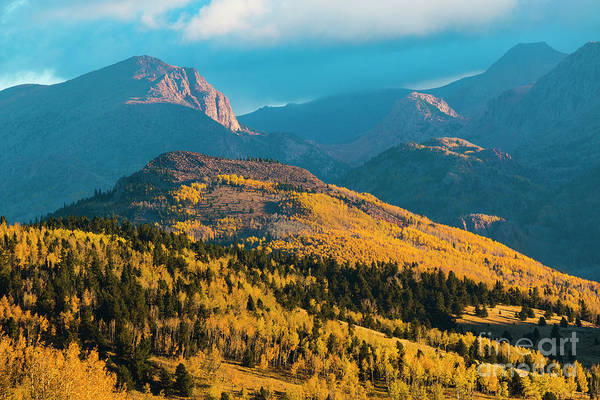Photograph - Mystical Victor Colorado Autumn by Steve Krull