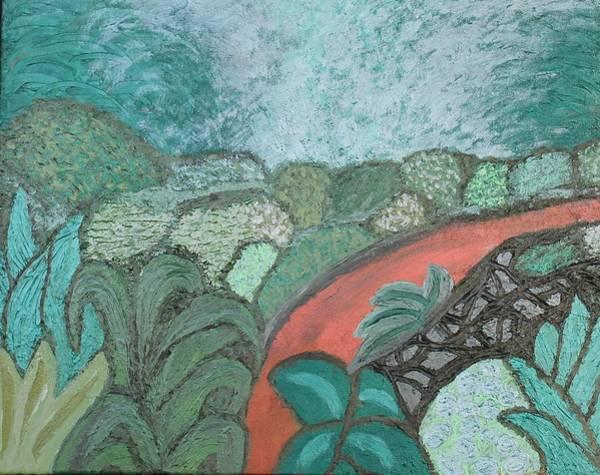 Painting - Mystified by Rachel Hannah