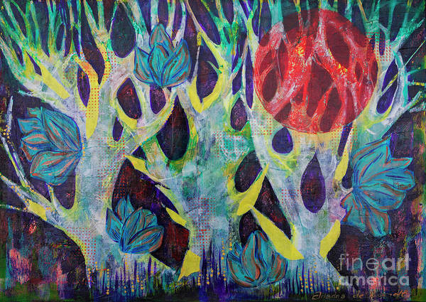 Painting - Myth Forest by Ariadna De Raadt