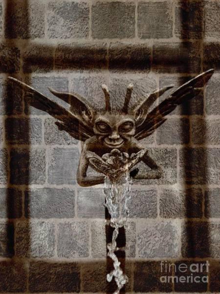 Spout Digital Art - Mythic Water Demon by Rev Richard W Burdett