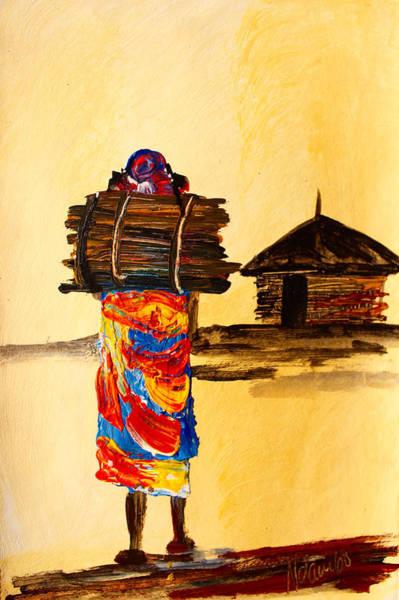 Painting - N 101 by John Ndambo