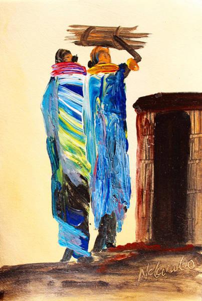 Painting - N 110 by John Ndambo