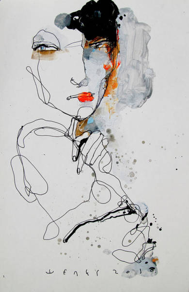 Wall Art - Drawing - N2 by Viktor Sheleg