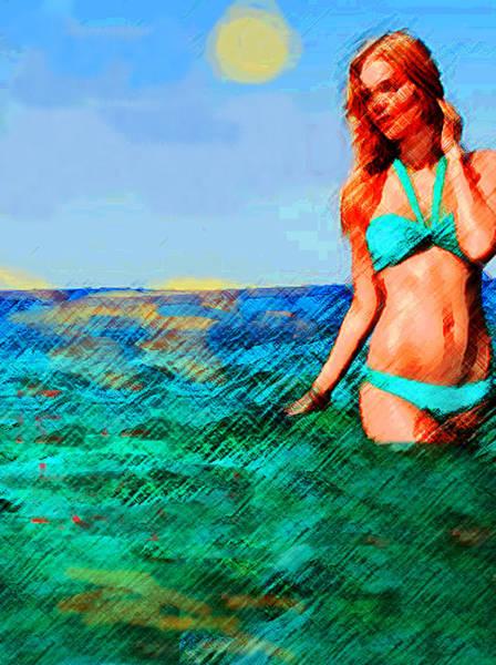 Painting - Na Praia by Paul Sutcliffe
