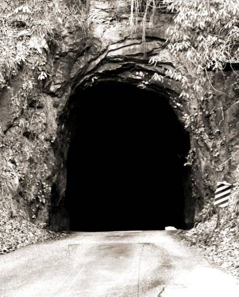 Backwoods Wall Art - Photograph - Nada Tunnel by Dan Sproul