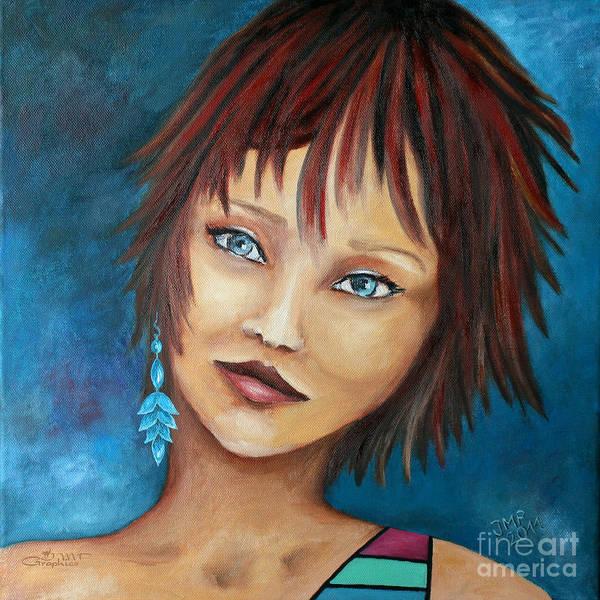 Nadine Painting - Nadine by Jutta Maria Pusl