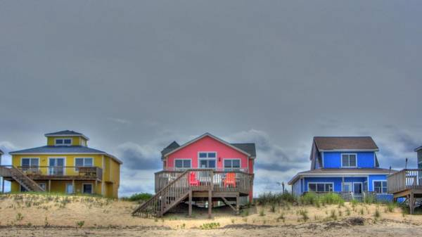 Photograph - Nags Head Doll Houses by Brad Scott