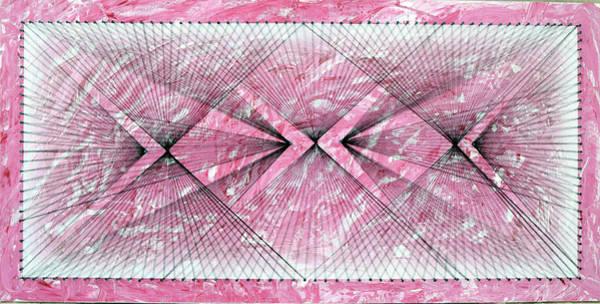 Thread Mixed Media - Nailed It Series No 27 by Sumit Mehndiratta