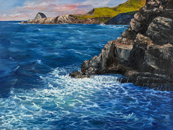 Painting - Nakalele Point Maui by Darice Machel McGuire