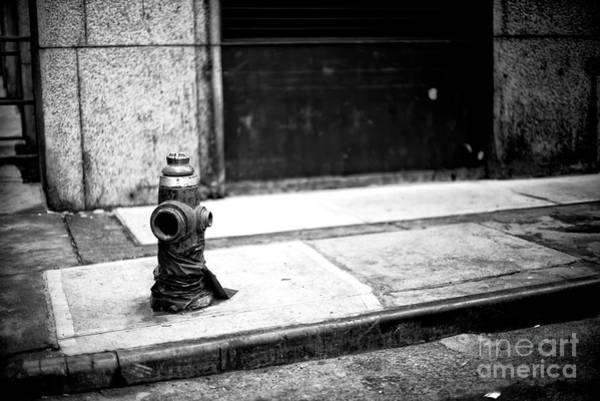 Photograph - Naked City Fire Hydrant by John Rizzuto