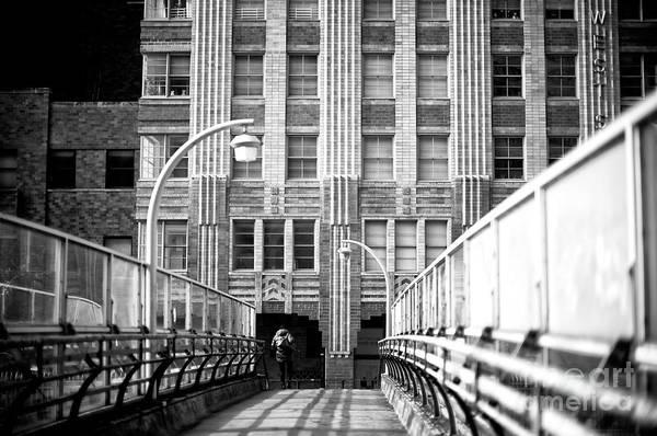 Photograph - Naked City Shadows by John Rizzuto