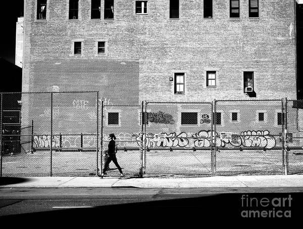 Photograph - Naked City Walk by John Rizzuto