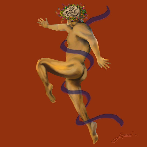 Painting - Naked Dancer #4 by Thomas Lupari