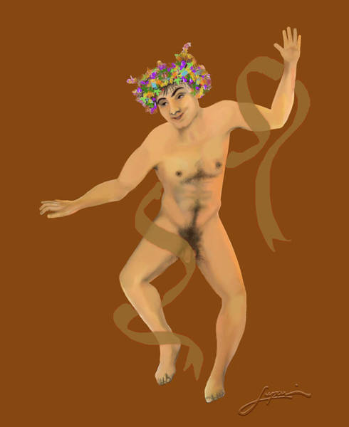 Painting - Naked Dancer #7 by Thomas Lupari
