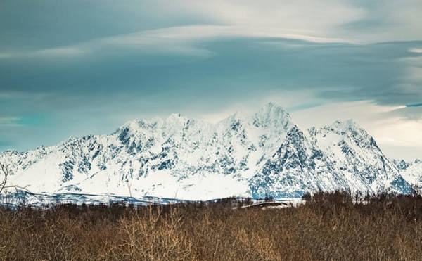 Photograph - Nakkefjellet Peak Troms Norway by Adam Rainoff