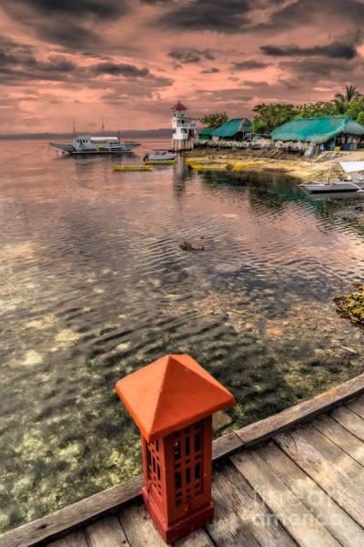 Photograph - Nalusuan Island Sunset by Adrian Evans