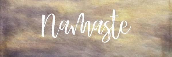 Digital Art - Namaste 1  by Paulette B Wright