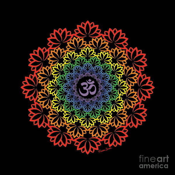 Digital Art - Namaste by Heather Schaefer