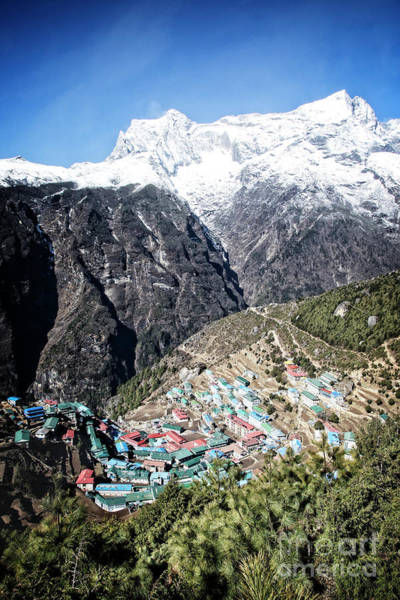 Photograph - Namche by Scott Kemper