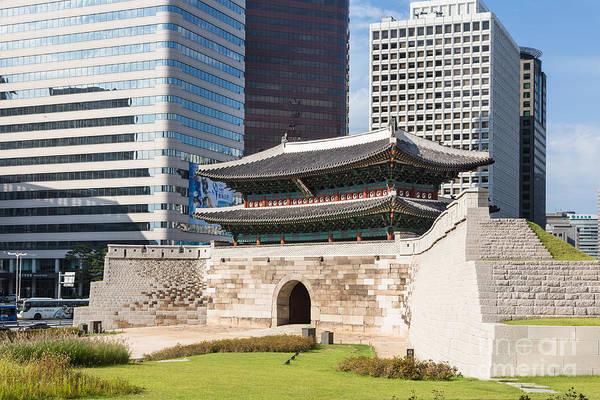 Photograph - Namdaemun Gate In Seoul by Didier Marti