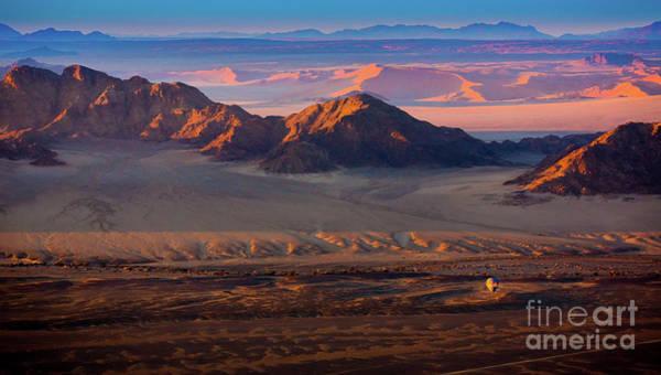 Wall Art - Photograph - Namibia Balloon by Inge Johnsson
