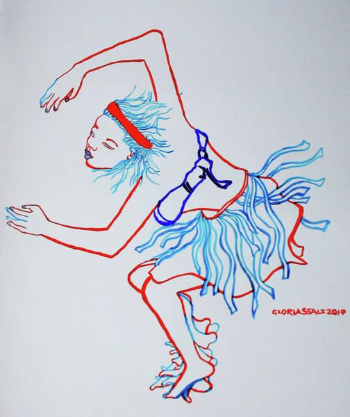 Namibian Traditional Dance Art Print