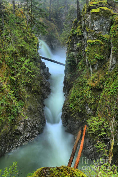 Photograph - Nanaimo Waterfall Spectacular by Adam Jewell