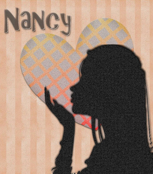 Mixed Media - Nancy by Patricia Griffin